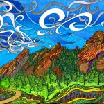 """The Flatirons"" by phillewisart"