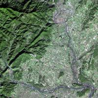 Ales (France) : Satellite Image