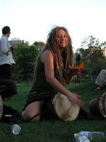Hippie Girl Drum