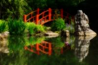 Orton Japanese Garden Reflections