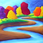 """Colour Stream"" by HoedlGicleeFineArtPrints"