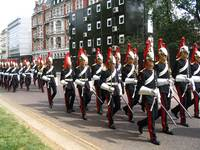 Queen's Regiment of the Household Cavalry, London