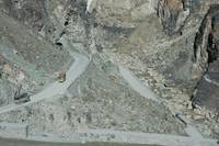 Hair-Pin Bends, en route to Khyber Pass, Afghanist