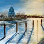 """Wilmette Harbor 0F"" by stonecash"