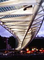 Campo Volantín footbridge, Bilbao, Spain
