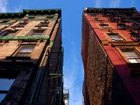 Blue Skies Over Little Italy