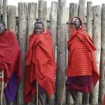 """Tanzania 2004 Maasai Brothers gloriousjourneyphoto"" by gloria_garrett"