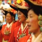 """traditional tibetan dance"" by hui"