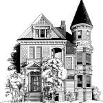 """San Francisco Victorian"" by marypalmer"