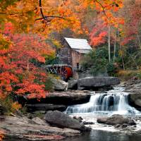 Glade Creek Mill Art Prints & Posters by James Korringa