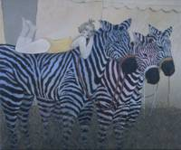 Painted Zebras #2