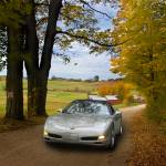 """Corvette on Farm Road"" by jameskorringa"