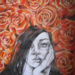 """AMONG red ROSES"" by Brischit"