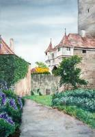 Rothenburg Castle Garden