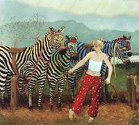 Painted Zebras #1