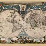 """old world map ct000270"" by lookbackart"
