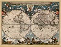 old world map ct000270