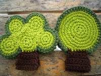 green tree coasters