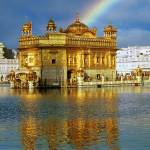 """Golden Temple Rainbow"" by SikhPhotos"