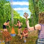 """Celtic Bronze"" by Longlinestudio"