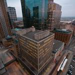 """Downtown Minneapolis from Fifth Street Towers"" by carbonsilver"