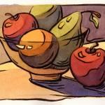 """""""Bowl of Fruit 8"""" by KonnieKim"""