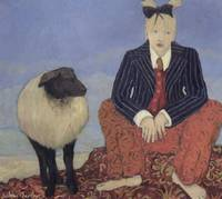 Barefoot Girl with Sheep