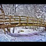 """Minnehaha Creek Snow"" by fpearson"