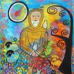 """""""St. Francis and Animals"""" by juliryan"""