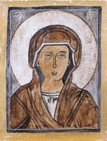 Virgin Mary in Cyprus Earth