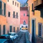 """""""Guanajuato Street Yellow Truck"""" by RICKKERSTEN"""