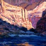 """Canyon Floor on the Colorado"" by RICKKERSTEN"