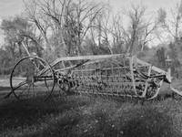 Antique Hay Machine