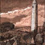 """Irish Round Tower"" by RJFlynn"