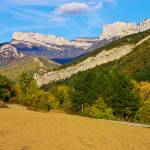 """Autumn landscape in Drome mountains"" by frenchlandscapes"