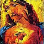 """""""Cubist Jesus"""" by jerrybacik"""
