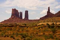 Colorful Monument Valley