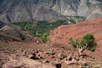 Berber Villages In The High Atlas Mountains, Moroc