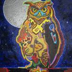 """Night Owl"" by katiesstudio"