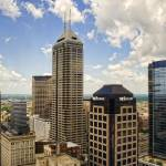 """Indianapolis Skyline from Observatory"" by cavanroo"