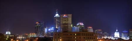 Indy Skyline from NW Zoomed