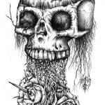 """""""Rose Skull"""" by Daniel_Bollans"""