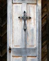 Cross On Door