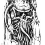 """""""Fleshy skull"""" by Daniel_Bollans"""