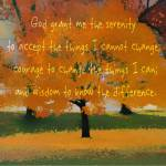 """Serenity Prayer Tree"" by SavedByLove"
