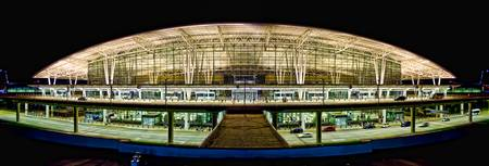Indianapolis International Airport Panorama