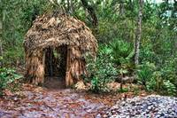 Timucuan Indian hut