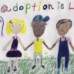 """Adoption Is Love"" by SunfluerDesigns"