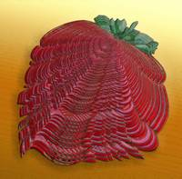 Large Strawberry Scallop