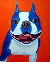 blue boston